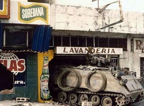 """El 20 de diciembre de 1989, Estados Unidos invadió Panamá. A la operación se le llamó """"Just Cause"""" (""""Causa Justa"""" en español). Foto: Archivo."""