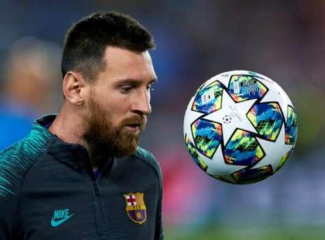 El delantero del Fútbol Club Barcelona, el argentino Leo Messi. EFE/Alejandro García/Archivo