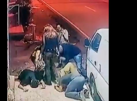 Sujetos disfrazados de mujer asaltan en Aguadulce [Video]