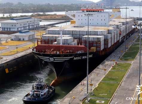 Canal de Panamá cierra el año fiscal 2019 con récord de tonelaje