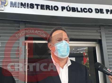Expresidente Varela acude al Ministerio Público por caso Odebrecht [Video]