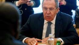 El ministro ruso de Exteriores, Sergei Lavrov. EFE