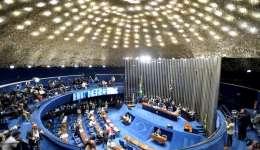 El Senado brasileño que empezó a escuchar hoy a los seis testigos de la defensa de la presidenta suspendida, Dilma Rousseff, en una nueva audiencia de la fase final del proceso que le puede costar el cargo y que concluirá la semana próxima.  / Foto: EFE