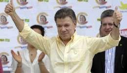 El presidente colombiano Juan Manuel Santos.  / Foto: AP