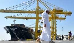 Barcos de contenedores MSC Sao Paulo en el Puerto de Hamad, en Doha, capital de Catar. /  Foto: Xinhua