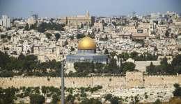 Vista del recinto de la Mezquita de Al Aqsa, en Jerusalén.  /  Foto: AP