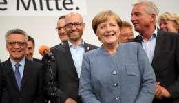 """El objetivo de la canciller es lograr una """"mayoría suficiente para tener un Gobierno estable"""". / EFE"""