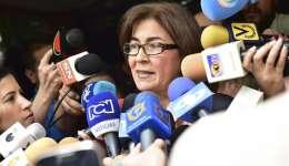 Nancy Morales de Ceballos, madre del exalcalde de San Cristóbal Daniel Ceballos. EFE/Archivo