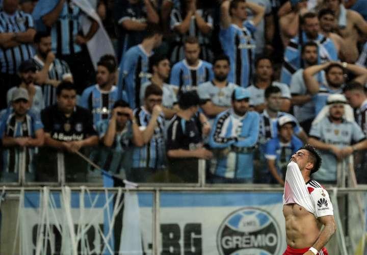 Gonzalo Martínez de River Plate. EFE/Archivo