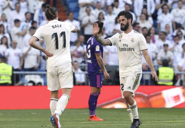 Gareth Bale e Isco volvieron a la titularidad. / EFE