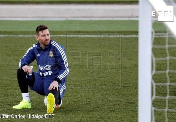 Lionel Messi, capitán de la selección argentina. /EFE