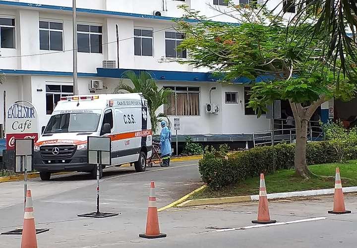 Hospital de David está a máxima capacidad para atender a pacientes con Covid-19