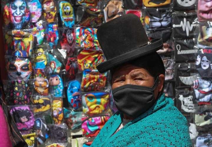 Bolivia sigue batiendo récords diarios de contagios por COVID-19