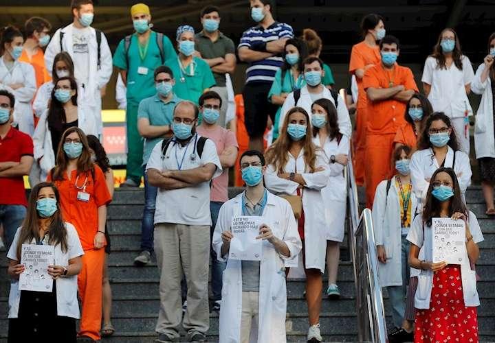 Trabajadores de Salud denuncian explotación; inician huelga