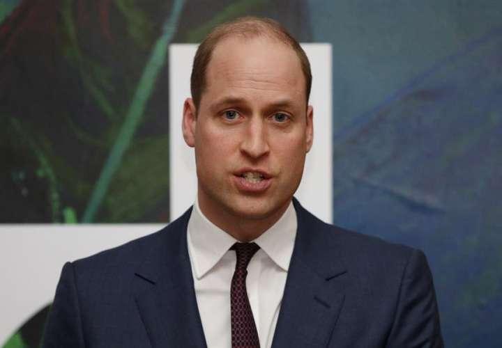 El duque de Cambridge pide combatir el cambio climático como con la COVID-19