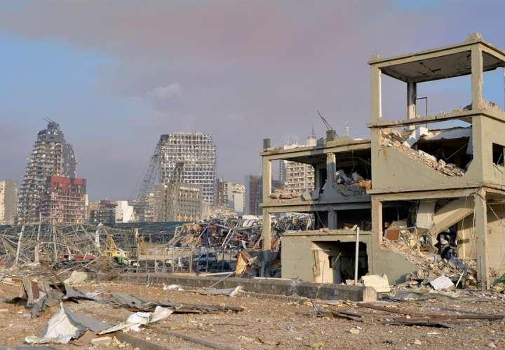 Líbano enfrenta las consecuencias de devastadora explosión en puerto Beirut