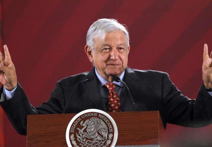 """López Obrador reitera a Trump su máxima política: """"Amor y paz"""""""