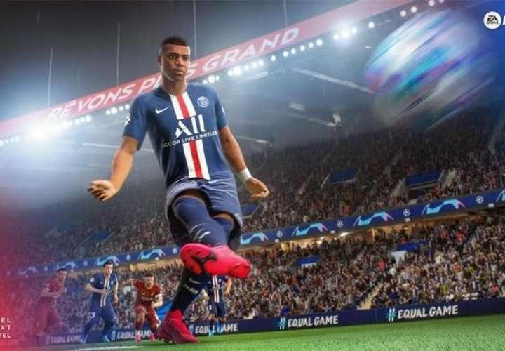 FIFA 21, el fútbol virtual nunca sufrió de la pandemia