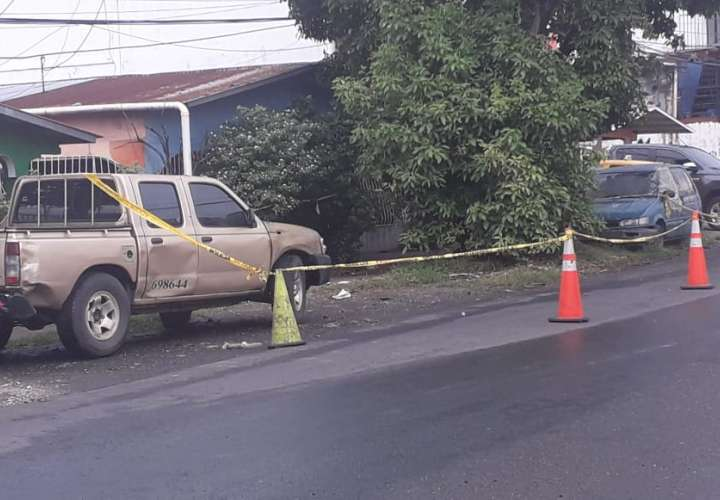 Escena del crimen. Foto: Landro Ortiz