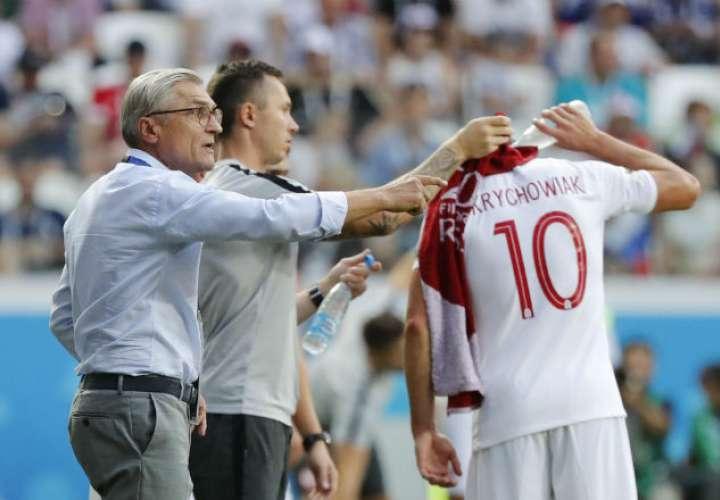 El entrenador Adam Nawalka. Foto:AP