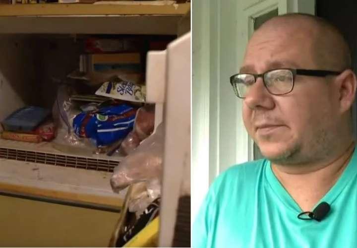 ¡Espanto! Hombre encuentra el cadáver de un bebé en la nevera de su madre