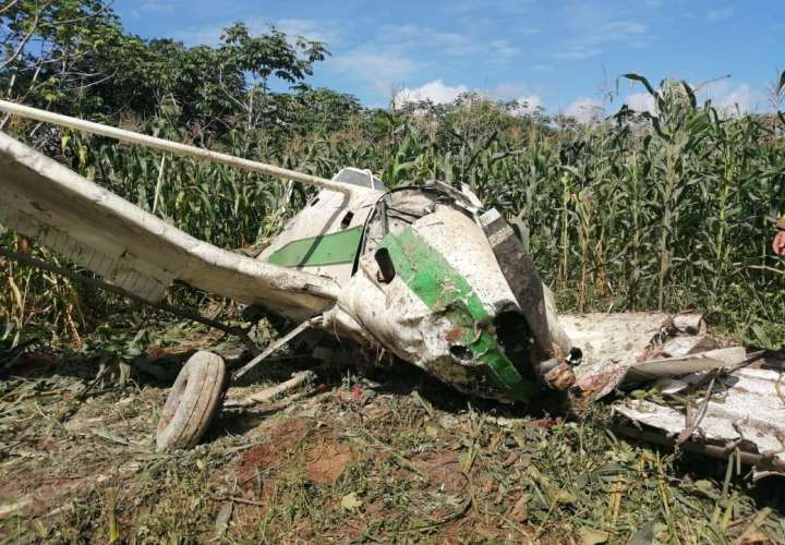 Cae avioneta fumigadora en Barú; hay un herido