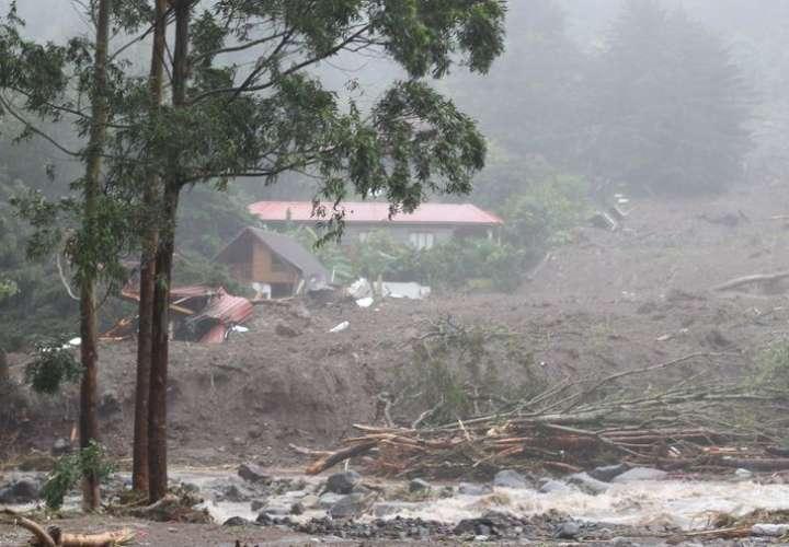 Productores agrícolas de Panamá luchan frente a la destrucción de las lluvias