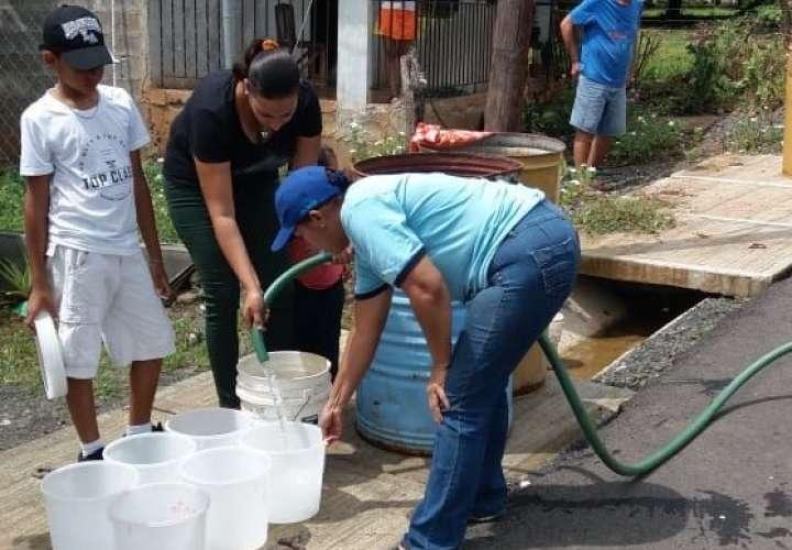 Parita se queda nuevamente sin agua potable