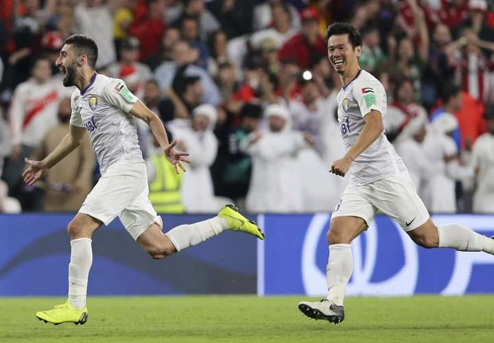 Al Ain es el primer finalista del Mundial de Clubes que se disputa en Abu Dabi (Emiratos Árabes). Foto: AP