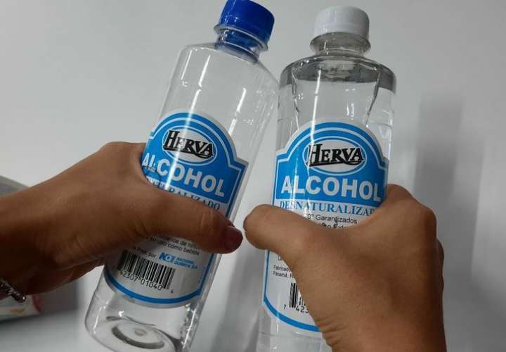 Minsa ordena retiro del mercado de alcohol por no tener registro sanitario