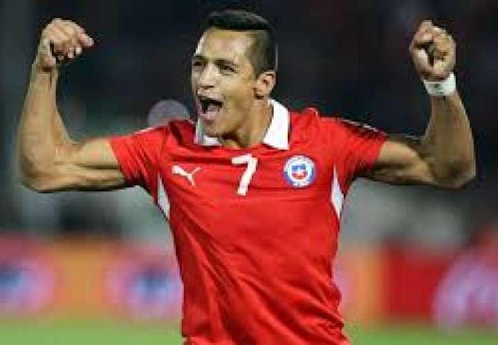 Alexis Sánchez es uno de los mejores delanteros en la historia de Chile.