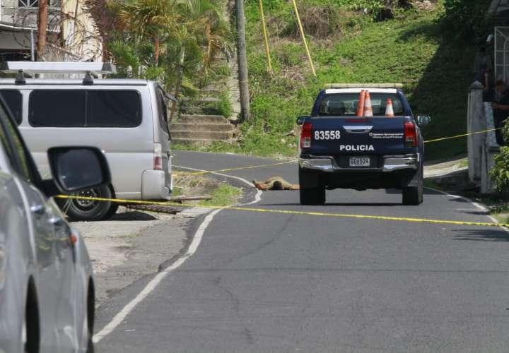 Matan de varios disparos a un sujeto en Los Andes