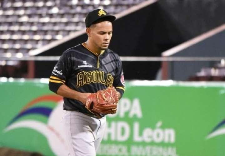 Andy Otero dominó a la ofensiva de los Gigantes del Cibao.