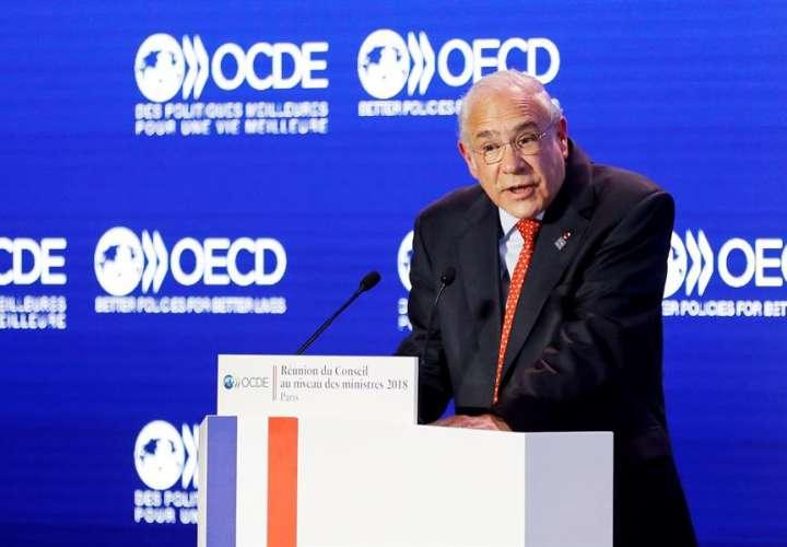 Ángel Gurría, secretario general de la Organización para la Cooperación y el Desarrollo Económicos (OCDE). EFE