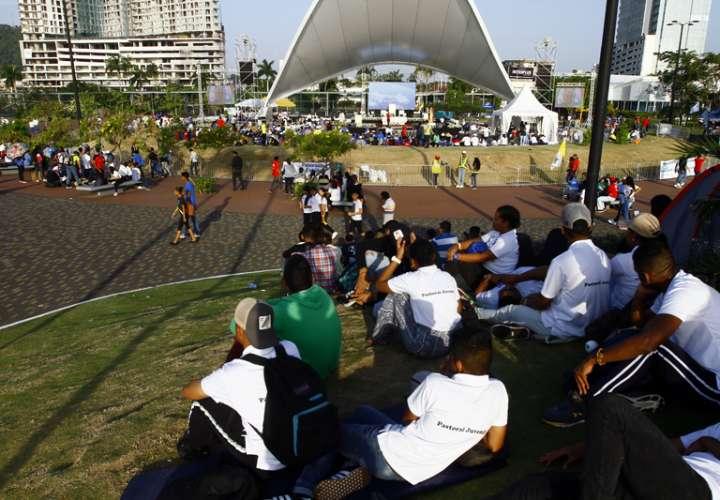 Jóvenes conmemoraron el primer aniversario de la JMJ Panamá (Video)