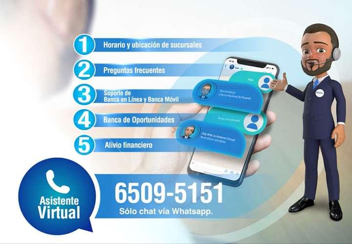 Ariel, el nuevo asistente virtual de Banco Nacional de Panamá