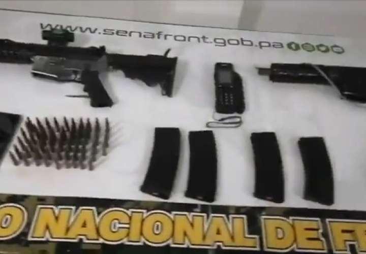 Ubican armas  de guerra y municiones en campamento en comarca Guna Yala