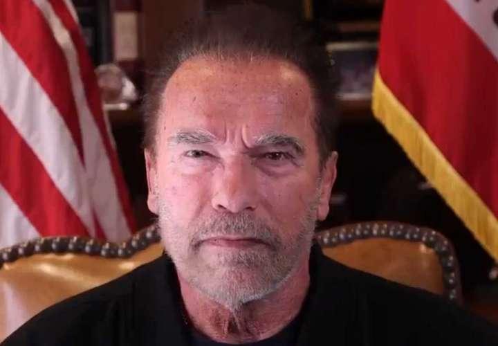 Arnold Schwarzenegger ataca  a Trump y lo tilda de ser un líder fracasado