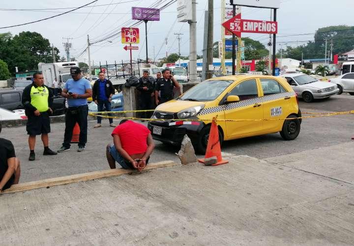 Capturan a cuatro asaltantes de supermercados en Arraiján y La Chorrera