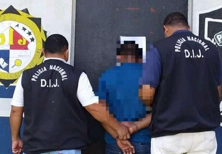 El sujeto de 34 años, fue capturado en el sector de San Isidro. Foto: Mayra Madrid