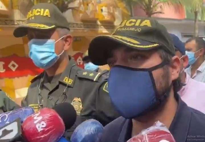 Banda criminal atenta contra comerciantes con granada en Barranquilla (Video)