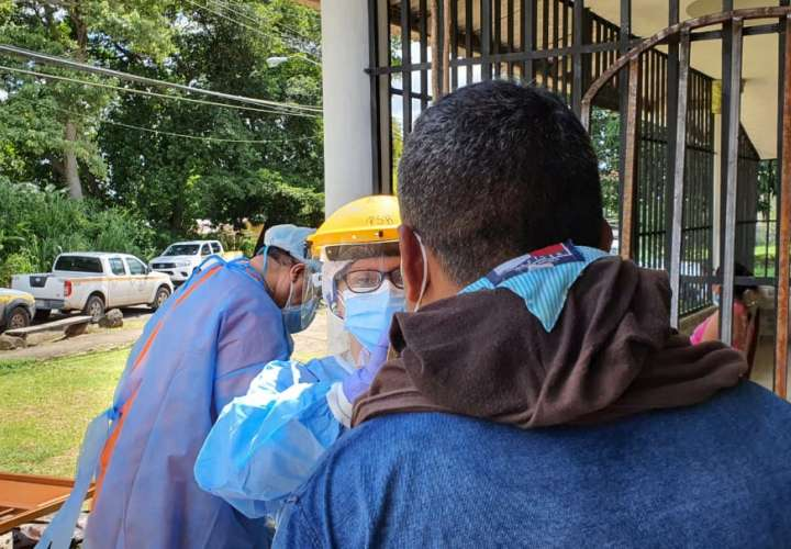 Barrido epidemiológico por nuevos casos de Covid-19 en Panamá Oeste