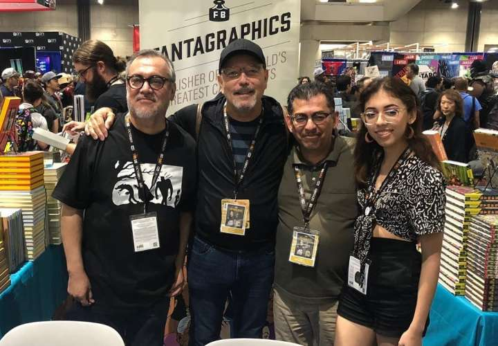 Blades estuvo en la Comic Con de San Diego, los fans gritaban su nombre