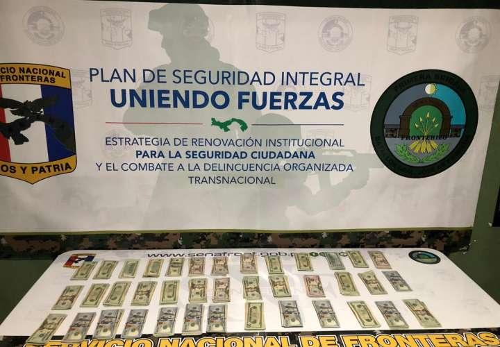 Dejan panameño tras las rejas por andar con $15,770 sin justificar en Darién