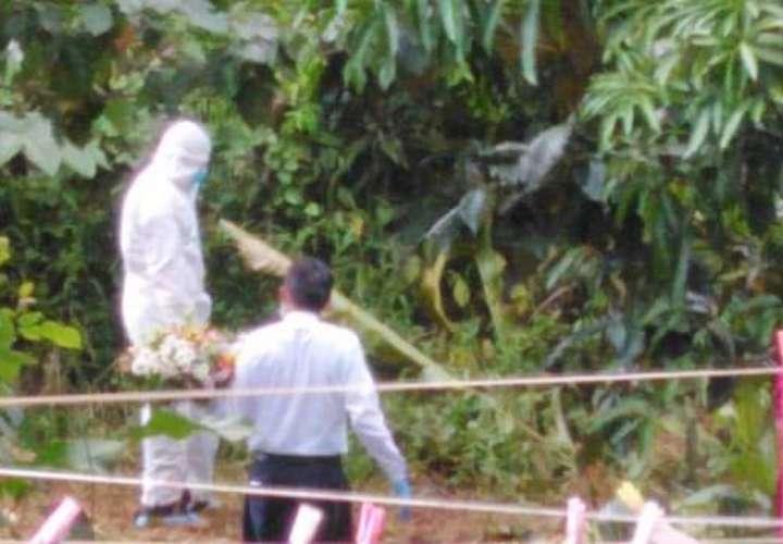 Moradores de Finca 4 no quieren sepulten más víctimas de Covid-19 en cementerio