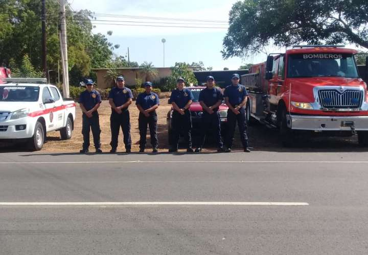 Operativo de Semana Santa. Foto: Bomberos de Panamá