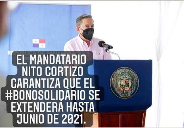 Nito: habrá bono hasta junio de 2021