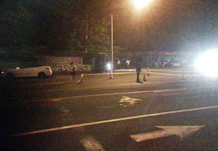Dos víctimas fatales por atropello en Chiriquí
