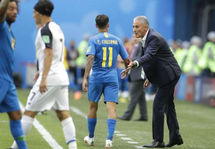 Adenor Leonardo Bacchi 'Tite', seleccionador de Brasil. Foto:AP