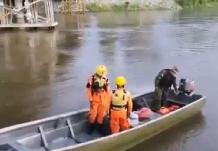 Retoman la búsqueda de desaparecido en río Sixaola